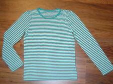 Esprit ° LA-Shirt ° weiß-blau geringelt ° NEU  Gr.128/134