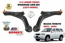 FOR MAZDA TRIBUTE 2.0 3.0 + 4x4 2001 - 2004 2x LOWER SUSPENSION WISHBONE ARM SET
