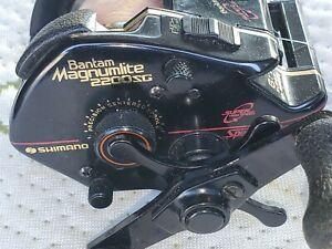Shimano Bantam Magnumlite 2200SG Speedmaster Super High Speed Reel  6:1