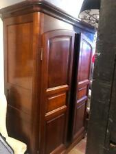 Antique Style Baker Furniture Country French Style Vintage Cherry Armoire