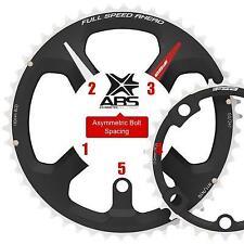 FSA ABS Road Chainrings 10/11 Speed 5 x 130mm Black 53T Bike