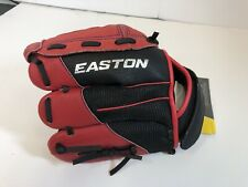 Easton A130443RHT Youth Z-Flex ZFX 1001 Ball Glove (10-Inch), Red/Black