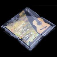 6 Stück Hochwertig SC12 Saiten Nylon Gitarrensaiten für Classic Akustische@AmH