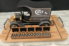 Franklin Mint Ford Colt FireArms Model T Delivery Truck - Mounted W Display RARE