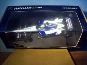 1/18 MINICHAMPS 100 020005 WILLIAMS F1 BMW FW24 2002 RALF SCHUMACHER
