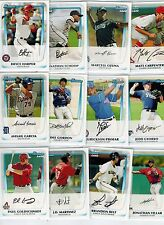 2011 BOWMAN PROSPECTS BASEBALL 110-CARD SET (BP1-BP110) HARPER GOLDSCHMIDT RC'S