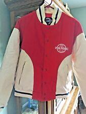 Polaris 1995 LOGO Letterman Jacket Mens Med Coat FAN CLUB Snap Front Jacket