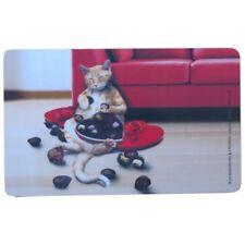 Rannenberg Frühstücksbrettchen Katze Naschkatze mit Pralinen