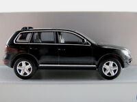 Wiking/VW 7L0 099 301 ... VW Touareg (2002) in schwarzmetallic 1:87/H0 NEU/OVP