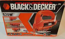 Stichsäge BLACK&DECKER KS 800 E elektr. 520 Watt ACCU-Bevel Sägeschuhverstellung