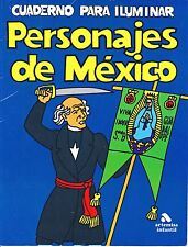 Personajes de Mexico - Coloring Book of Famous Historical Persons of Mexico - LN