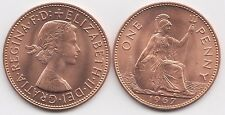 1967 Penny UNC 2  Birthday Present or anniversary Gift