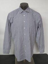 Nordstrom Men's Thomas Mason Italy Trim Fit 17 1/2 34-35 120 2 ply Dress Shirt