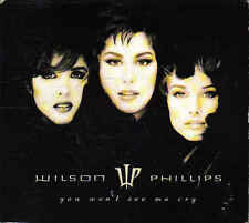 Wilson Phillips- You Wont See me Cry Promo cd single