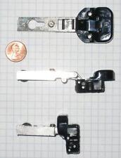 MEPLA 26mm GLASS DOOR HINGE #70715/2, OVERLAY, SELF-CLOSING, 92 DEGREES