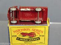 M/BOX MOKO LESNEY No.20a ERF STAKE TRUCK   VN MIB