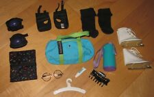 American Girl Dolls Ice Skates Eye Glasses Knee /Elbow Pads Tote Bag & Misc