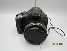 Canon PowerShot SX30IS with Lens Cover and Battery