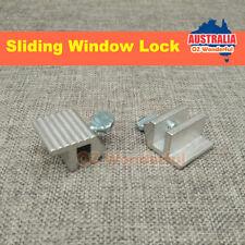 2pcs Sliding Window Security Safety Locks Metal Aluminum
