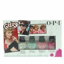 Opi Grease Mini Nail Lacquers 4Pcs Gift Set  New Manicure