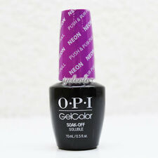 OPI GelColor Soak Off LED/UV Gel Nail NEON Color 0.5 oz Push & Pur-Pull #GCN37