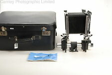 Sinar F1 Monorail 4×5 Camera and Fitted Case. Condition – 5E [5859]