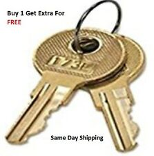2 HON File Cabinet Replacement Keys For Series 101R-225R Keys Cut By Locksmith