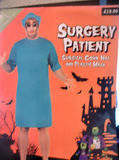 "surgery patient costume adult uk large 42""-44"" chest b.n"