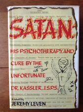 1st ED: Satan: His Psychotherapy and Cure... Jeremy Leven Hilarious Novel