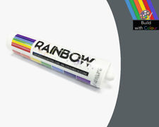Iron Grey Colour Silicone Sealant Rainbow 310ml RAL 7011 Indoor & Outdoor use
