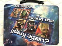 Guardians Lunch Box Of The Galaxy Vol 2 Large Tin Tote Metal School Lunch Box