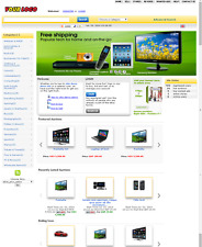 Auction website - EBay Clone Website for SALE - Yellow Theme
