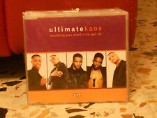 ULTIMATE KAOS - ANYTHING YOU WANT (i've got it) 3,10- cd slim case - 1998 promo