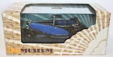 Ixo 1/43 Scale - MUS046 - Delage D8SS Fernandez Darrin 1932 - Blue / Black
