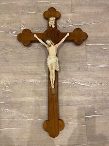 Kruzifix, Jesus am Kreuz, 92cm hoch.