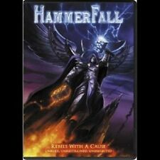 """HAMMERFALL """"REBELS WITH A CAUSE UNRULY..."""" DVD+CD NEU"""