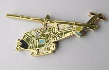 HUEY IROQUOIS UH-1 HELICOPTER LAPEL HAT PIN BADGE 1.5 INCHES