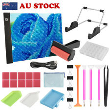 Diamond Painting Tools + Dimmable A4 LED Light Box Tracing Board For Drawing