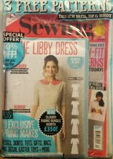 Simply Sewing Issue 40 3 Free Patterns The Libby Dress FREE SHIPPING CB