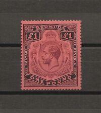 BERMUDA 1918-22 SG 55  Mint Cat £275