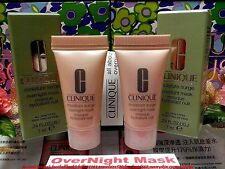 """2X CLINIQUE MOISTURE SURGE OVERNIGHT HYDRATING MASK ALL SKIN ◆7MLX2◆ """"Free Post!"""