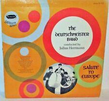 The Deutschmeister Band - Salute to Europe LP Vinyl Westminster SS-711 Herrmann