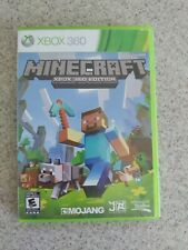 Minecraft - Xbox 360 Edition Case and disc. Free Canadian Shipping.