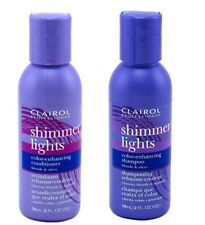 Clairol Shimmer Lights Color-enhancing 2 oz Shampoo and 2oz Conditioner Combo
