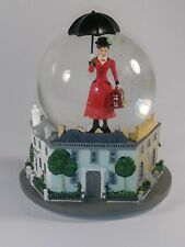 Disney Mary Poppins Broadway Musical Glass Snowglobe ~ Very Rare! Htf!