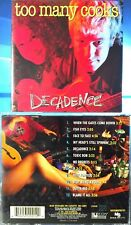 Too Many Cooks - Decadence (CD, 1995, Start Records, Canada)