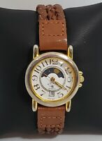 Ladies Wrangler Day/Night Indicator Brown Leather Strap Analog Watch 6320 A7