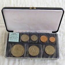 NEW ZEALAND 1970 7 COIN SPECIMEN PROOFLIKE YEAR SET - still mint sealed