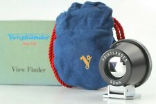 [MINT] Voigtlander 90mm Viewfinder Finder Black for Rangefinder From JAPAN #366