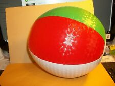 14 Inch Blow Up Beach Ball  Punchable  Not from Mainland  China NOS One pair